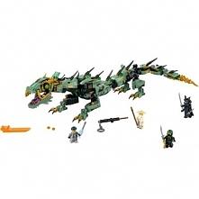 Klocki LEGO Ninjago Mechaniczny smok zielonego ninja