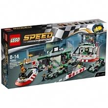 Klocki LEGO Speed Champions Zespół F1 Mercedes