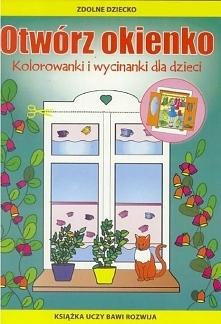Otwórz okienko. Kolorowanki i wycinanki dla dzieci - 208659