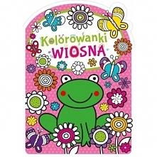 GW Foksal Kolorowanka Wiosna