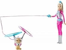 Mattel Lalka Barbie i Latający Kotek DWD 24 Lalka