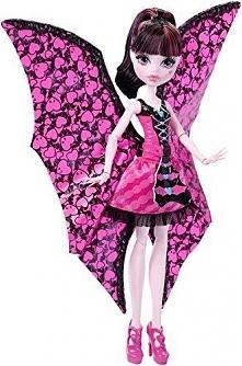 Mattel Monster High Draculaura Wampiskrzydła 2w1 Lalka