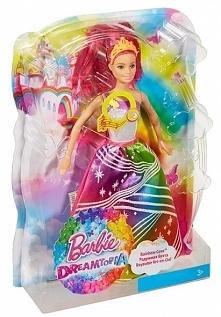 Mattel Barbie Tęczowa Księżniczka ze światełkami Lalka