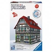 Średniowieczny Dom 3D 216 el. Puzzle RAVENSBURGER