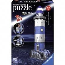 Latarnia nocą Puzzle 3D RAVENSBURGER