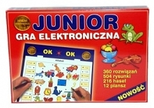 GRA JUNIOR ELEKTRONICZNA - GRA-11