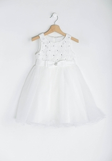 Biała Sukienka Ariel