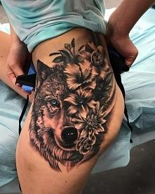Wilk tatoo