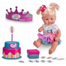 Mamy piękną nowość w naszym sklepie❗ Zobaczcie sami :) Nenuco Lalka Urodzinowa Happy Birthday z Tortem i akcesoriami