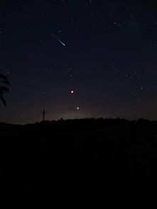 Zdjęcie zrobione w dniu zaćmienia księżyca