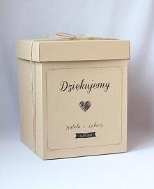 pudełko eko na koperty