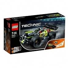 Lego Technic. 42072 Żółta wyścigówka