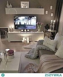 Cudownie urządzony salon