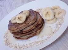 Pancakes owsiane z bananami...