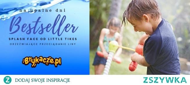Little Tikes Przeciąganie liny Splash Face  Zabawka wodna dostępna w sklepie Brykacze