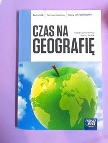 Czas na geografię. Podręcznik. Zakres podstawowy. Szkoły ponadgimnazjalne