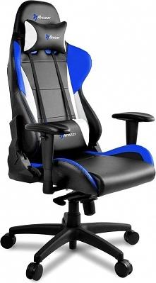 Fotel Arozzi Verona Pro V2 Czarno-niebieski (VERONA-PRO-V2-BL)