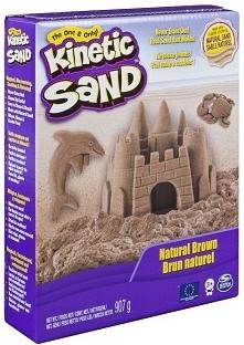 Spin master Kinetic Sand Brązowy piasek konstrukcyjny Zabawka
