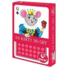 Karty do gry 54 Junior - DARMOWA DOSTAWA OD 199 ZŁ!!!