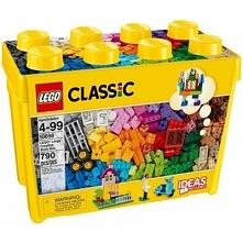 Classic Kreatywne klocki duże pudełko - DARMOWA DOSTAWA OD 199 ZŁ!!!