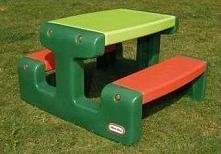 Stolik do zabawy Junior/zielony (LIT479A0)