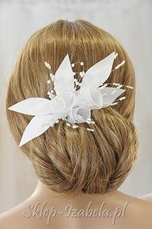 ozdoba do włosów ślub