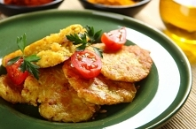Kotlety ryżowe z serem