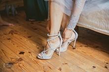 Sandałki na obcasie dla Pan...