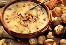 Zupa pieczarkowa Basi