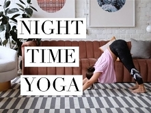 Night Time Yoga Flow For Be...