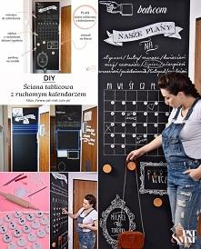 DIY – Ściana tablicowa z ru...