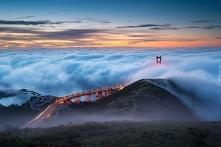Golden Gate Bridge, San Francisco. Najlepsze puzzle tylko na Puzzle Factory.