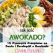 Jak Jeść Awokado? 15 Pysznych Przepisów na Dania i Przekąski z Awokado