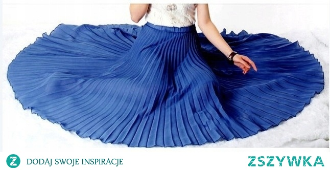 Plisy wróciły do mody! Kliknij w zdjęcie i zobacz długą spódnicę ;)