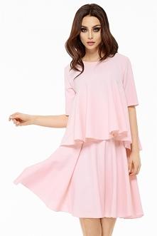Komplet bluzka + spódnica l238