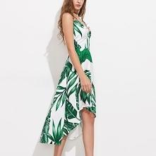 Zwiewna letnia sukienka w t...