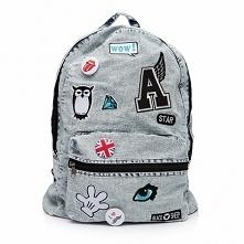Plecak vintage damski by Black Sheep. Brytyjska marka stylowych plecaków do szkoły, oraz miejskich. Są to modele hand-made, z 100% jeansu marmurkowanego. Zaprojektowane zostały ...