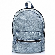 Plecak vintage jeansowy. Uszyty ręcznie przez markę Black Sheep.