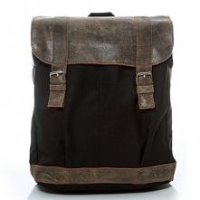 Plecak skórzany vintage. Uszyty ręcznie przez markę Belveder. Model mieści la...