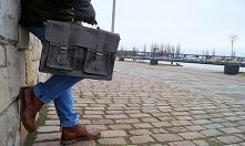 Torba skórzana męska. Marka belveder specjalizuje się w szyciu toreb vintage. Produkty są wykonane ręcznie przy tradycyjnych metodach kuśnierskich.