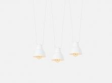 Lampa wisząca COBEN HANGMAN 3 – biały