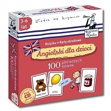 Kapitan Nauka - Angielski Dla Dzieci - 100 Pierwszych Słówek