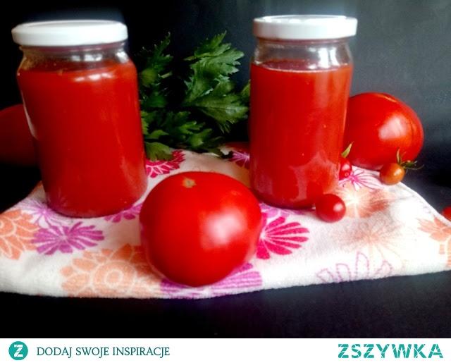 Pomidory po przeróbkach.