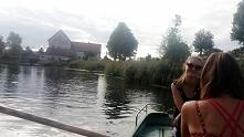 Mała podróż łódką i młyn w ...