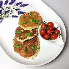 Wytrawne placki śniadaniowe na słono z szynką i serem