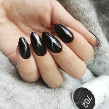 702 Deepness Of The Ocean i 325 Heavy Black od IsabelleNails <3