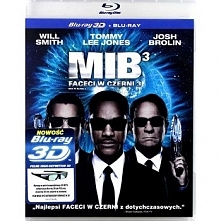 Faceci w czerni 3 3D [Blu-Ray 3D]+[Blu-Ray]