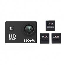 Kamera sportowa SJCAM SJ4000 / 3 baterie + akcesoria / stabilizacja obrazu