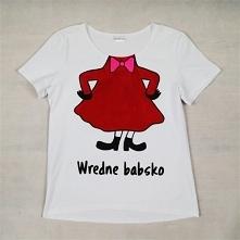 Koszulka ręcznie malowana Mała Mi. Mogę domalować dowolny napis! :) Kliknij w...