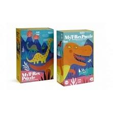 Witajcie,  Duże puzzle dla trzylatka! My T Rex Puzzle dla Trzylatka od Londji.  36 pięknie ilustrowanych, wykonanych z ekologicznych materiałów puzzle. Po ułożeniu obraz przenie...